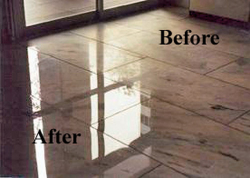 Bathroom Grout Services-After & Before | Grout Plus