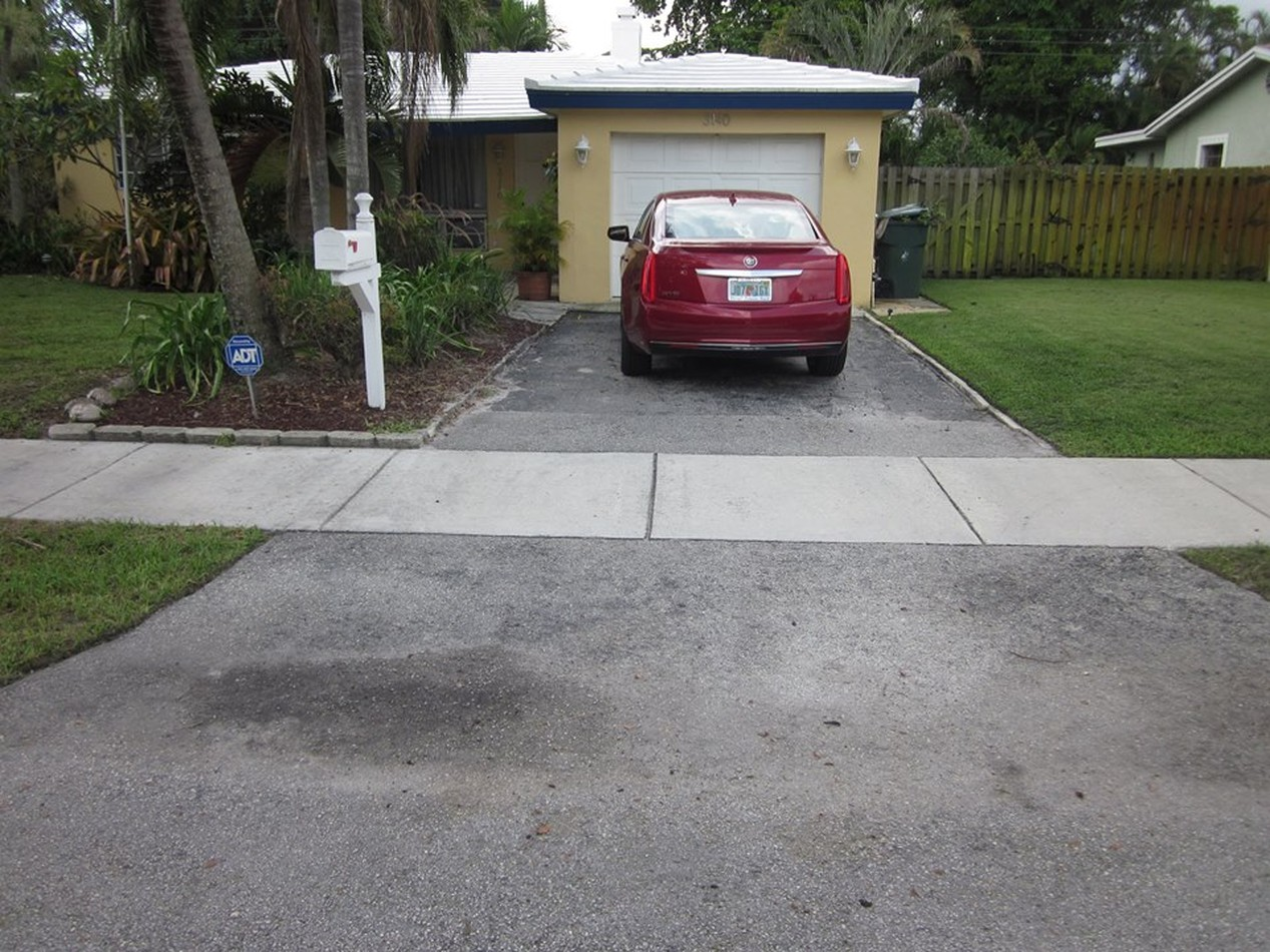 Driveways Pavers-Before & After