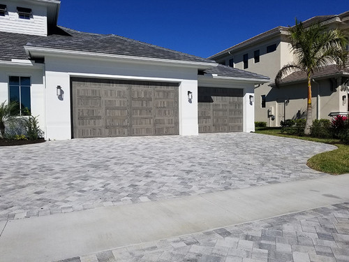 Before & After-Pavers | Bastos Pavers Inc