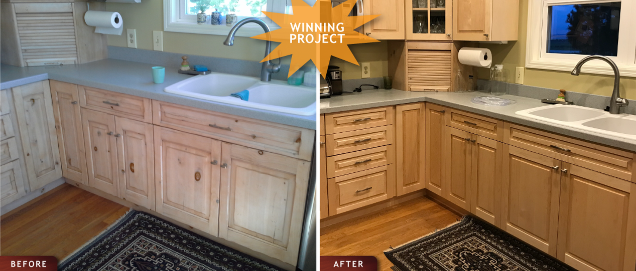 Cabinet Remodeling, Redooring and Resurfacing