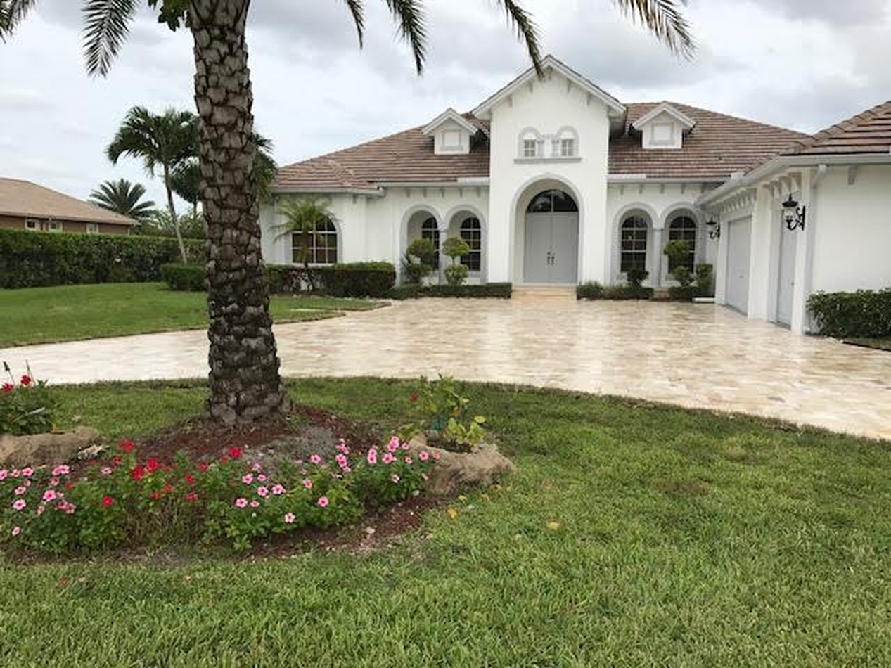 Travertine Driveways