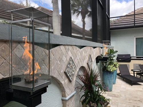 Fire Place | Accurate Pavers