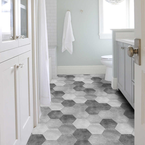 Bathrooms Remodeling | Coral flooring & d�cor
