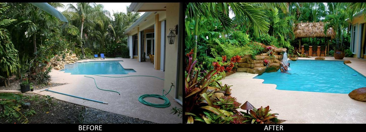 Before & After- Landscaping