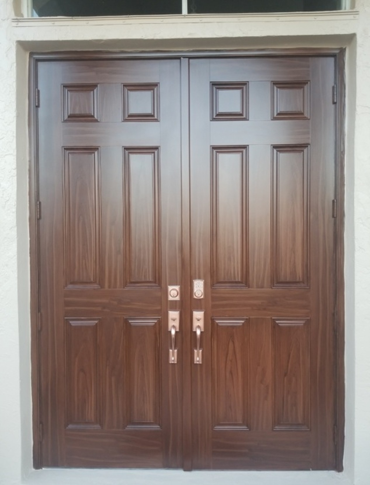 Faux Wood Door