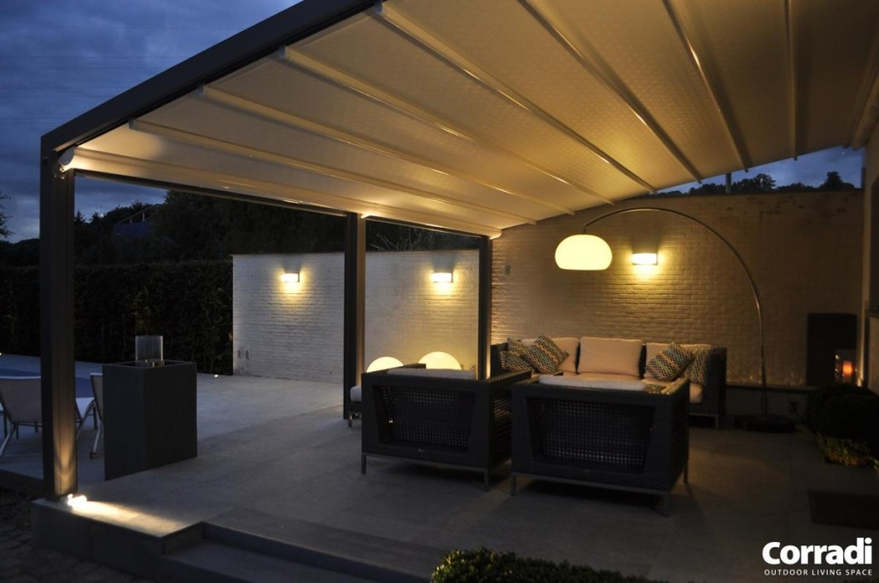 Retractable & Awnings With Lighting  | The Patio District