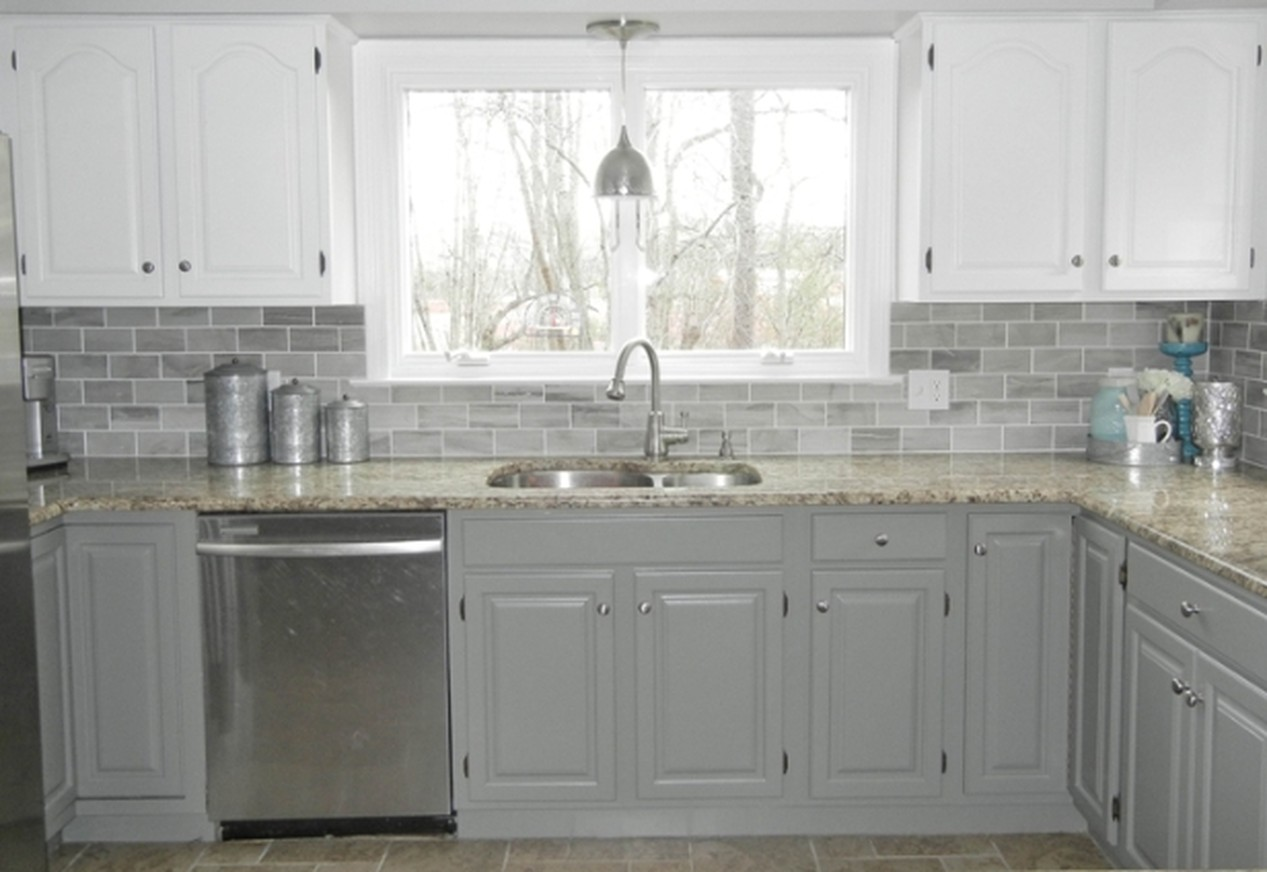 Before and after Kitchen Remodeling with quartz counter tops