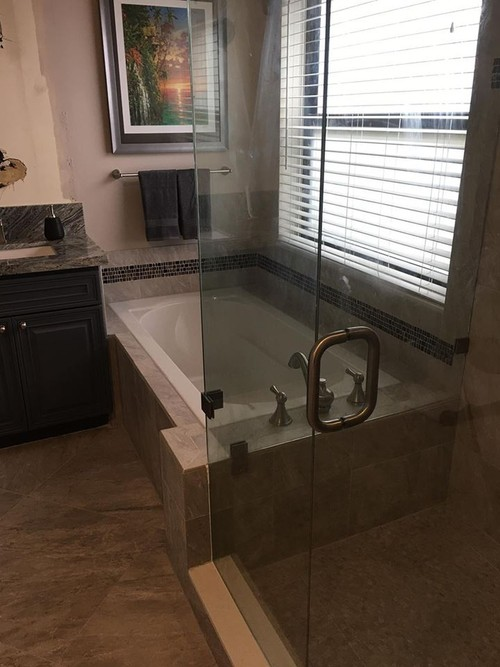 Custom Bathrooms |  Faster And Master