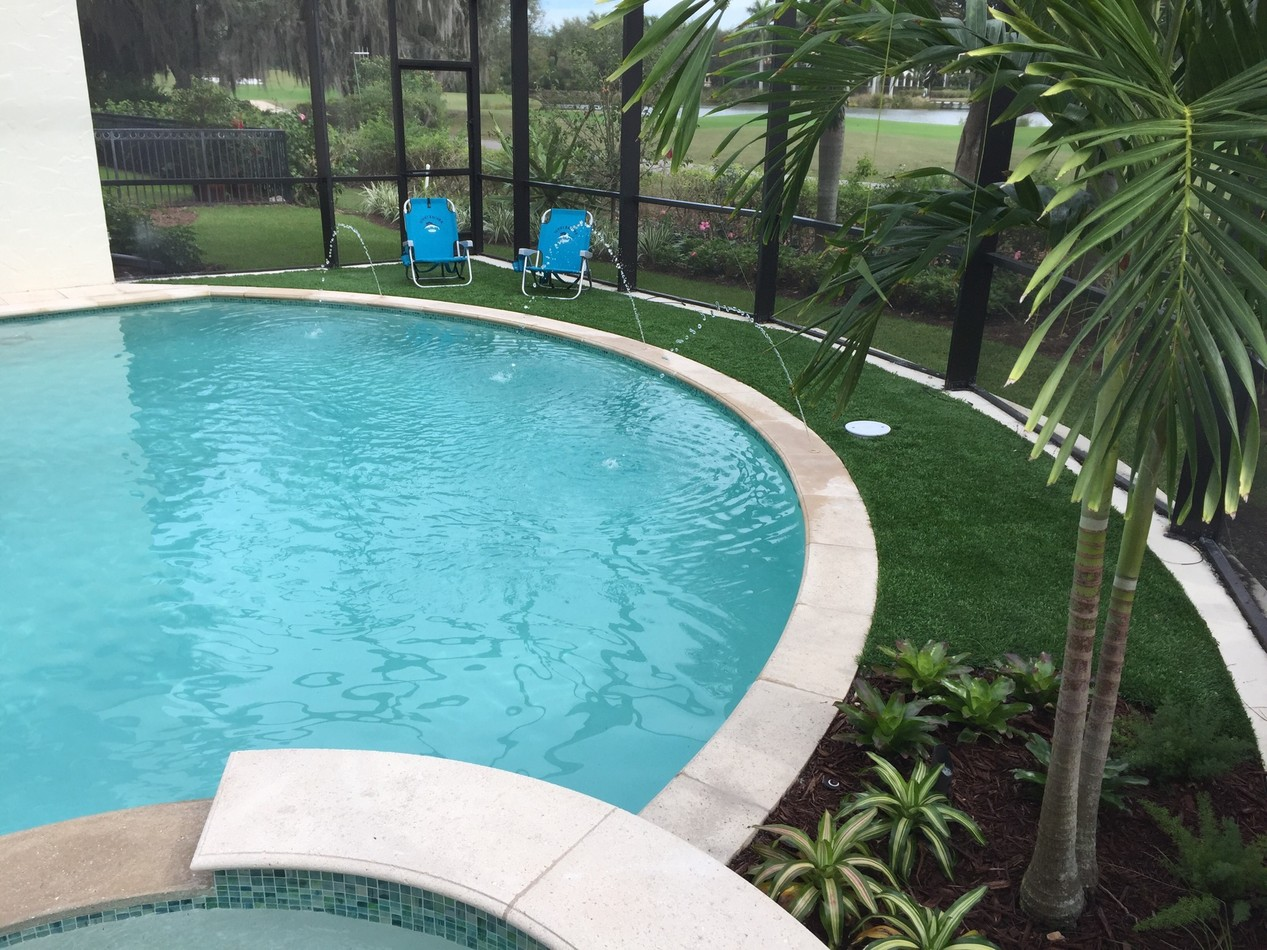 Pool Deck & Patio | Luscious Landscaping and Pavers