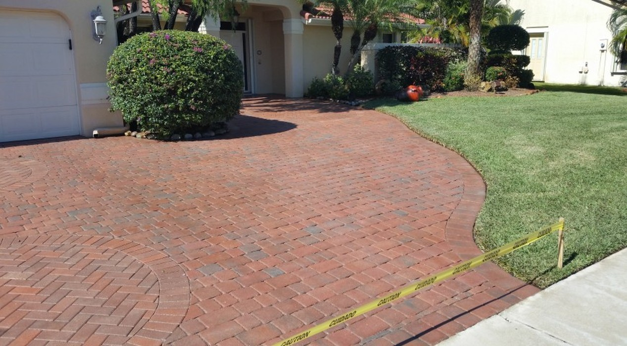 Stain Removal & Paver repairs
