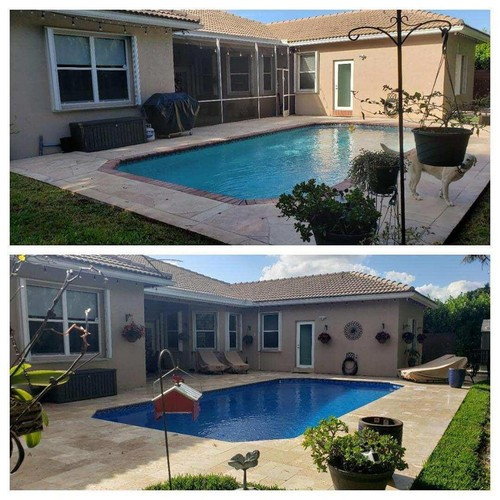 Pool Remodeling-Before & After | Ross Services