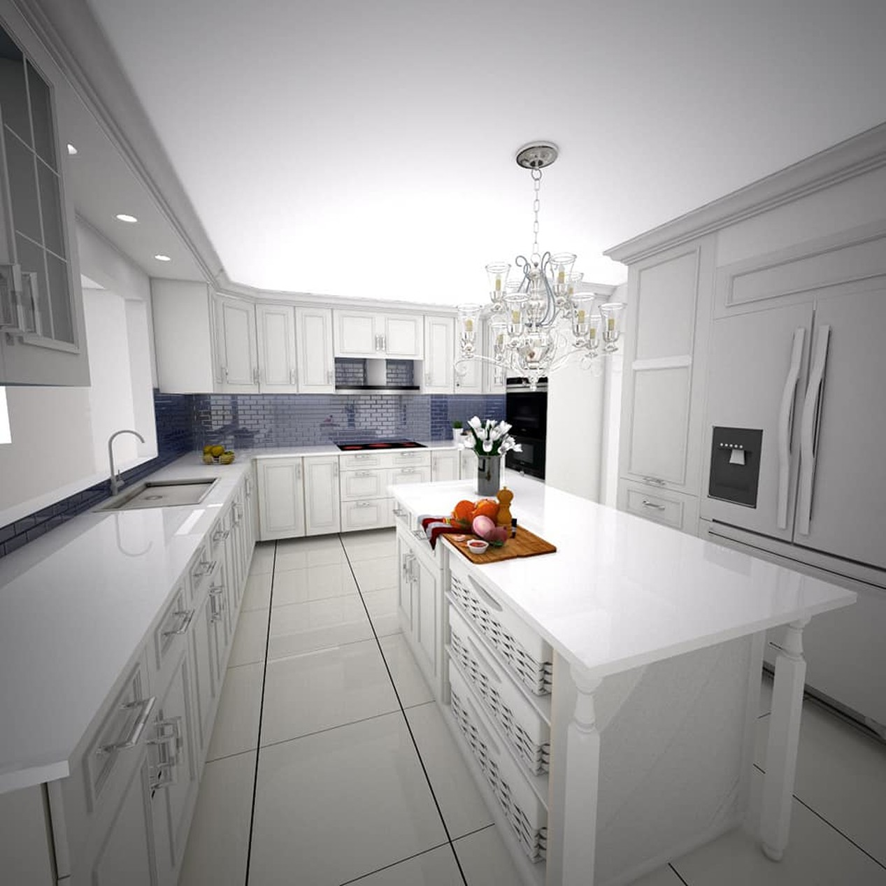 Custom Kitchen and Bathrooms Models | Faster And Master