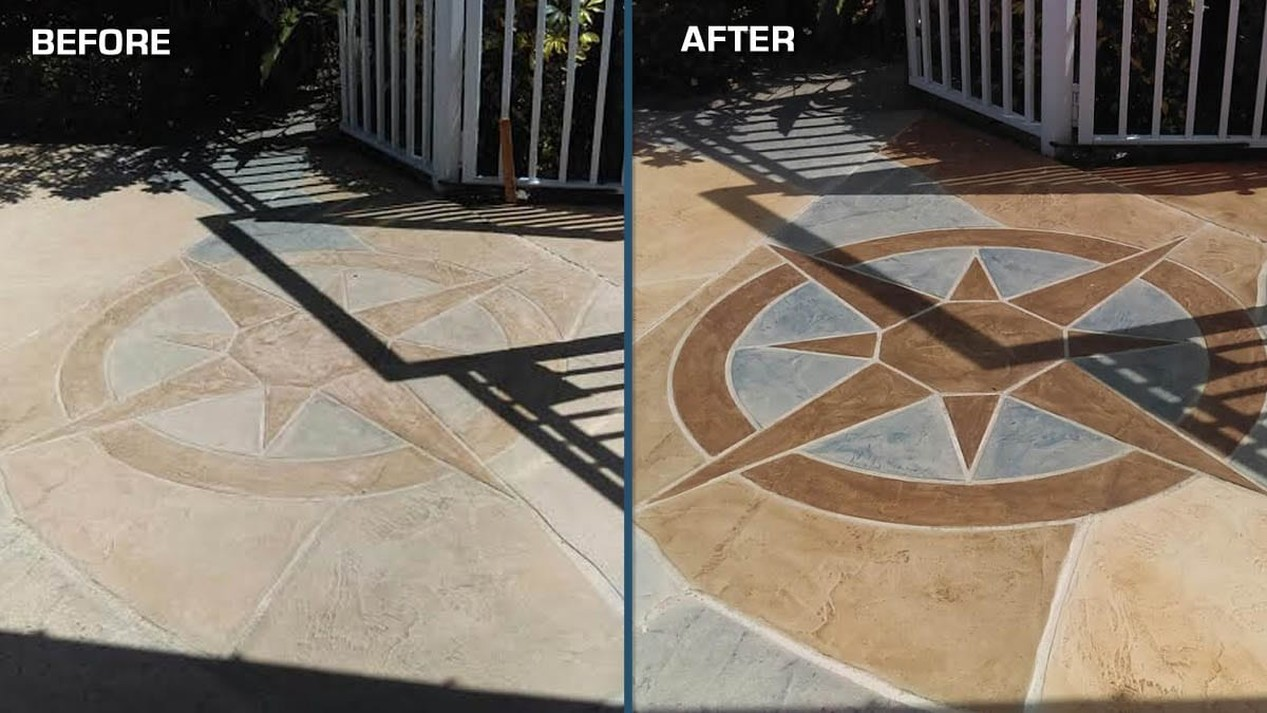 Before & After- Resurfacing