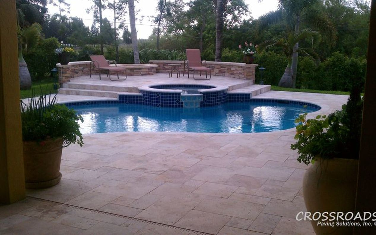 Pool Deck Pavers & Marble | Cricket Pavers