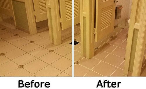 Grout Treatments - Before and After | Grout Medic