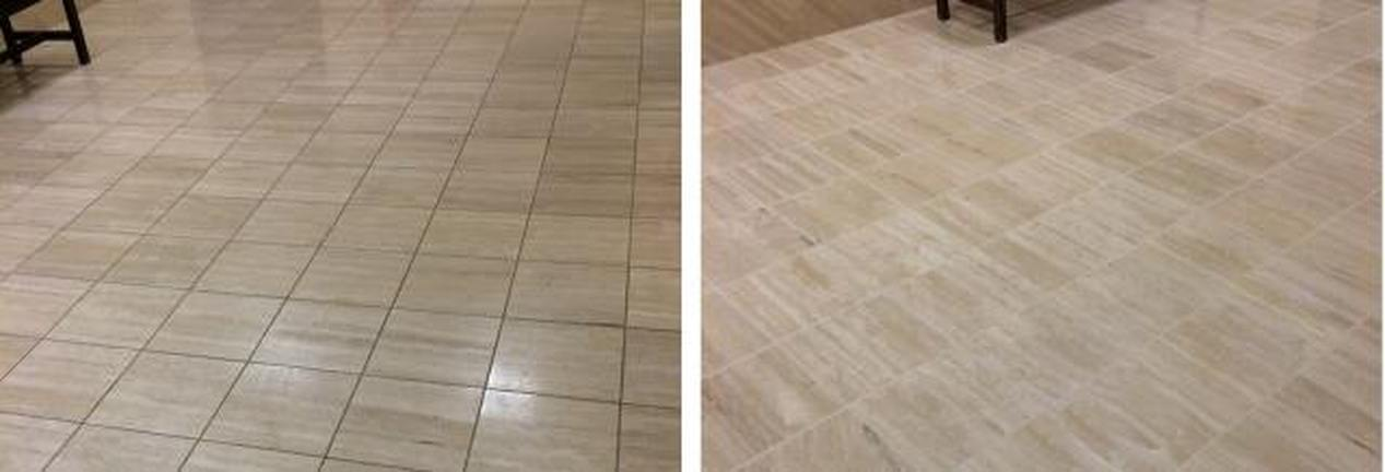 Flooring & Color Restoration-After & Before