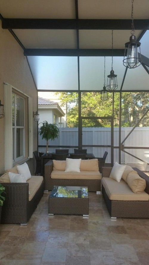Daybed & Hanging Chair Patio Seating | All Weather Patio