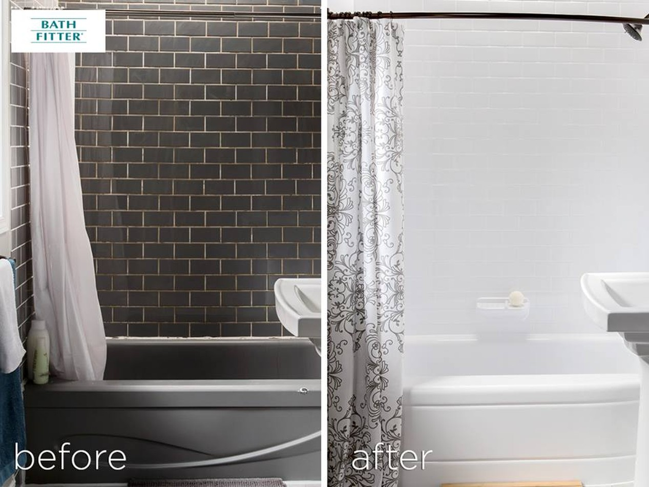After & Before-Bathroom,Tub Remodeling | Bath Fitters South Florida LLC