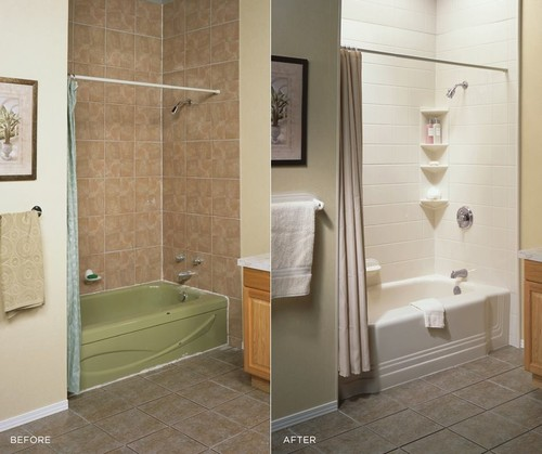 After & Before | Bathroom & Tub Remodeling | Bath Fitters South Florida LLC