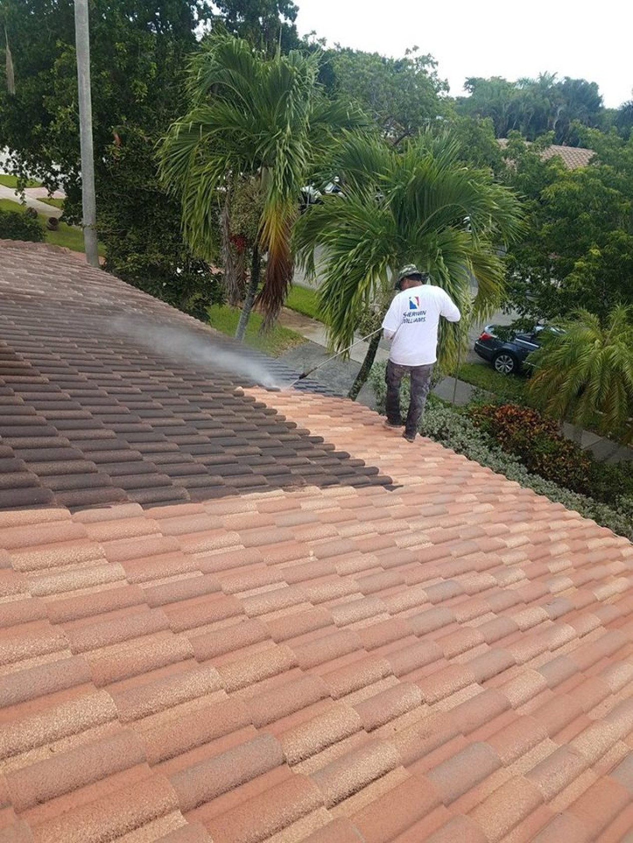 Roof Painting, Cleaning & Pressure Cleaning