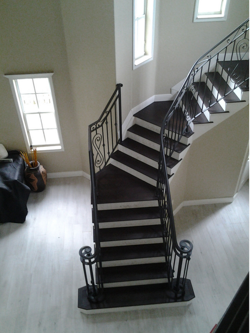 Wood Stairs | Miami Wood Decks and Floors Inc