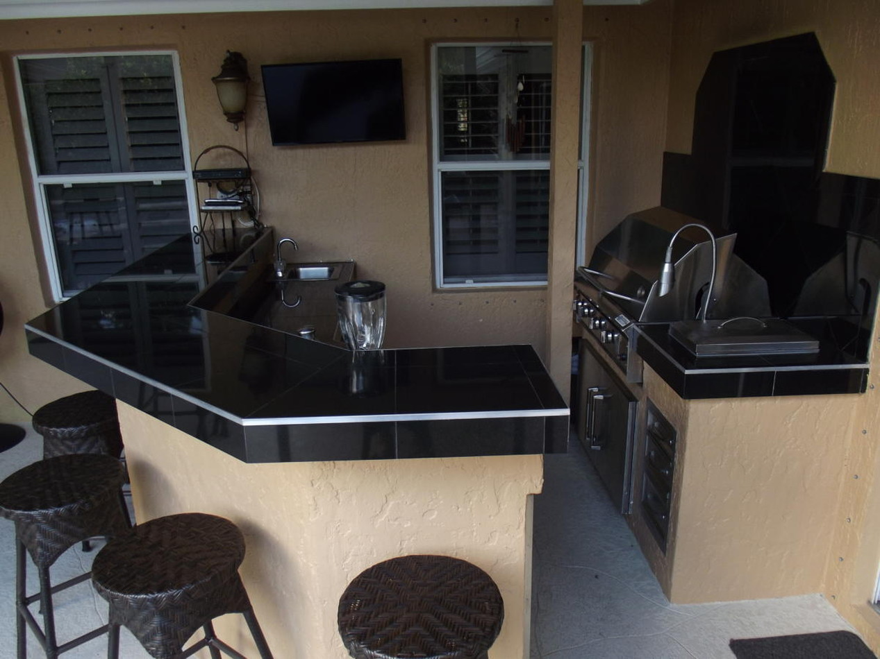 Outdoor Kitchen & BBQ's