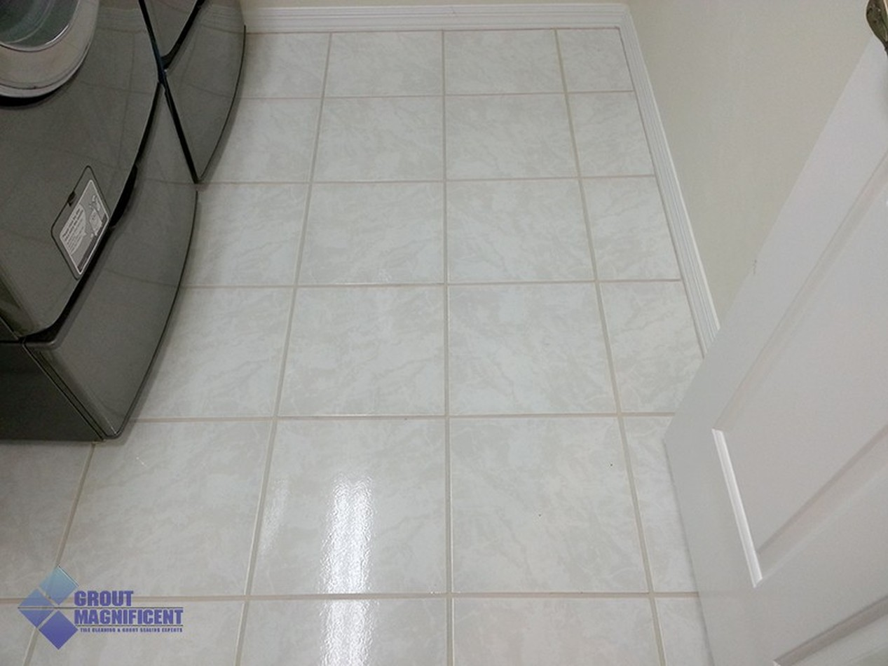 Tile and Grout Cleaning-Before & After