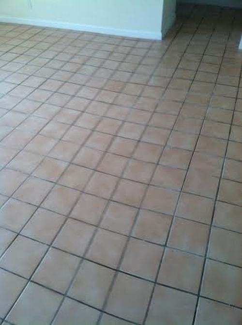 Tile Restoration-Before & After | Grout Plus