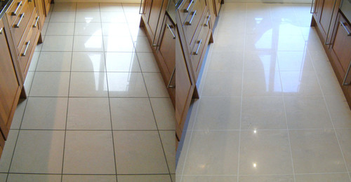 Flooring & Color Restoration-After & Before | Grout Beautiful