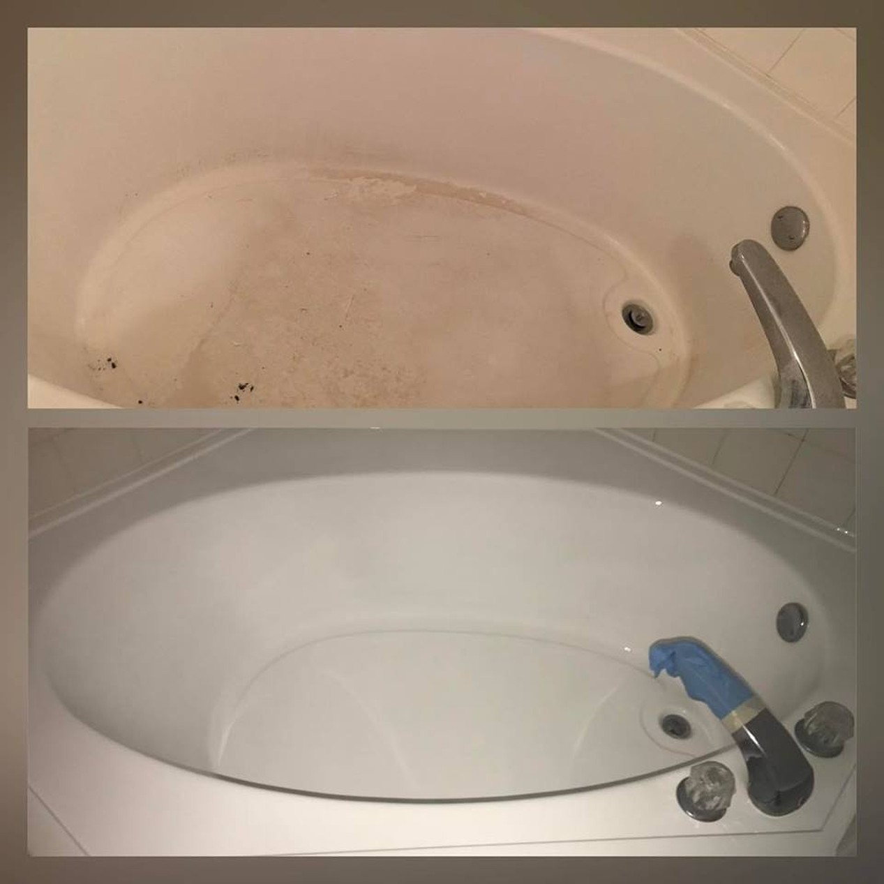 BathTub Refinishing-Before & After