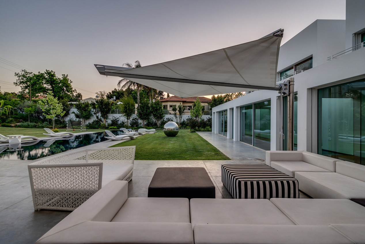 Cabanas & Lrg, Tension Awning Structure | Paradise Awnings