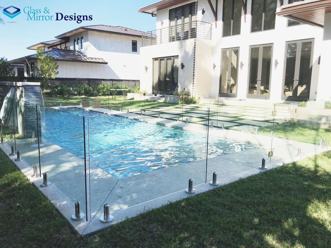 Glass Railings Designs | Glass and Mirror Designs