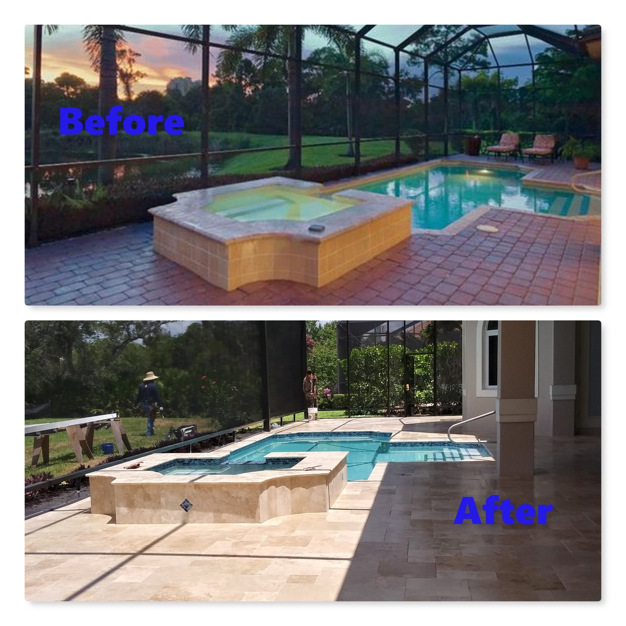 Pool, Spa & Deck Renovation