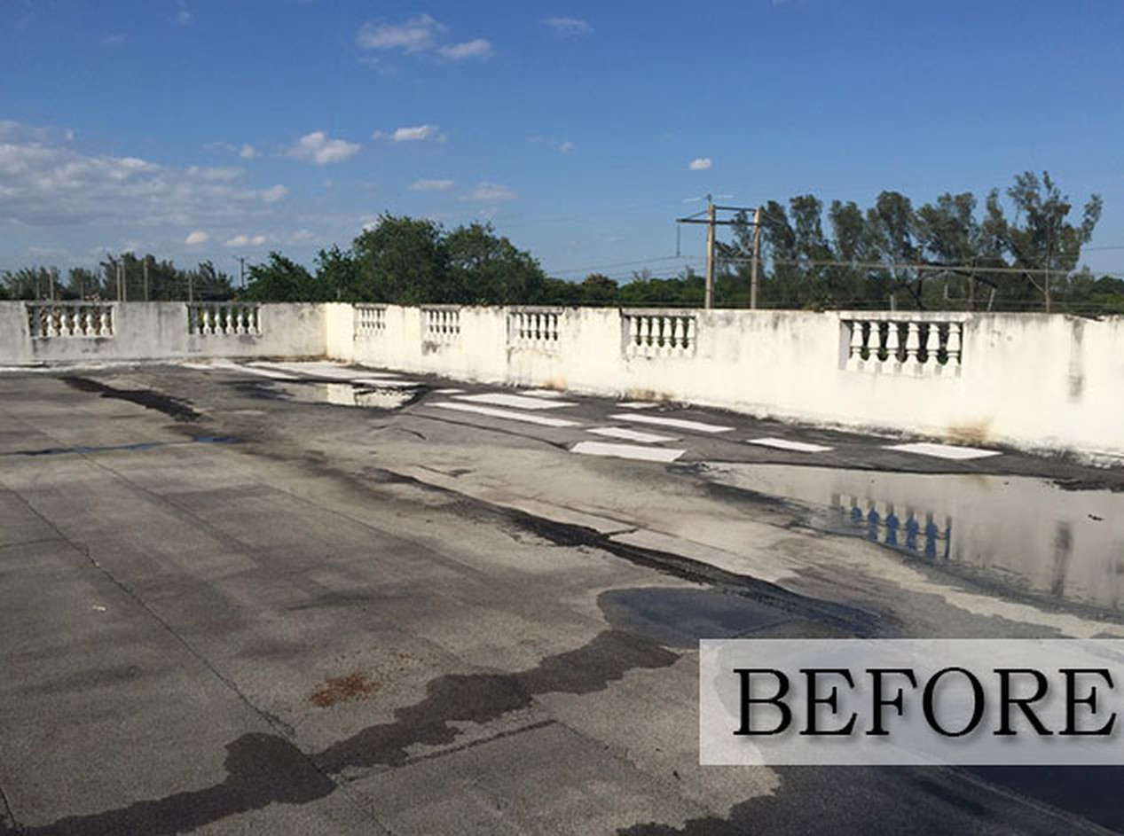 Roofing- Before & After