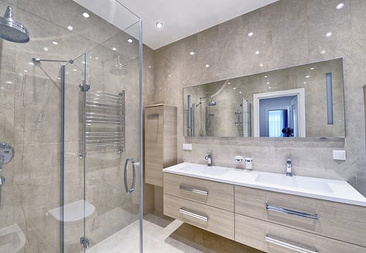 Shower Glass Doors & Mirrors