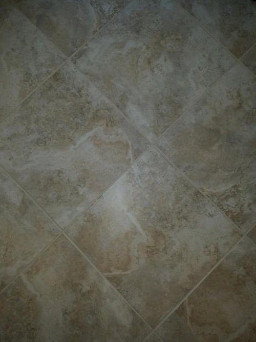 Polishing & Grout Cleaning-After & Before | Doctor Marble