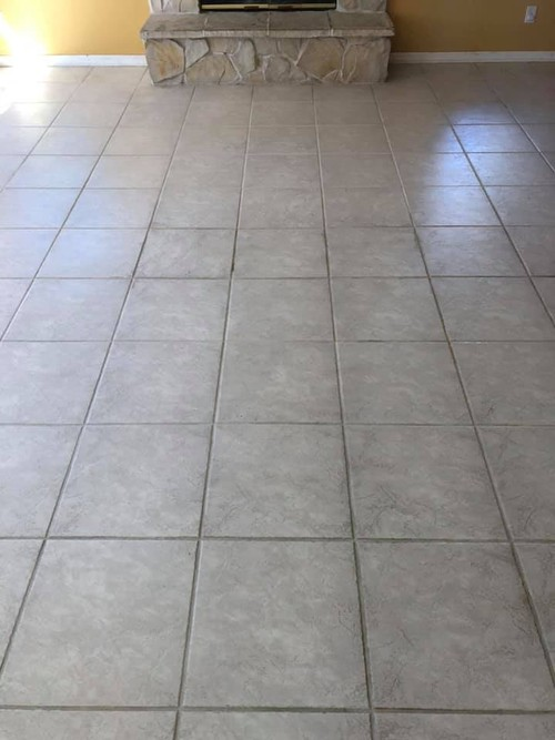 After & Before- Grout Cleaing | the Groutsmith