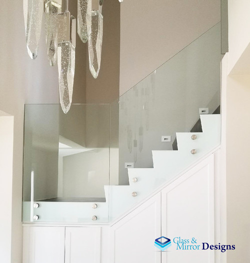 Frameless Stairs | Aa Glass & Windows Inc.