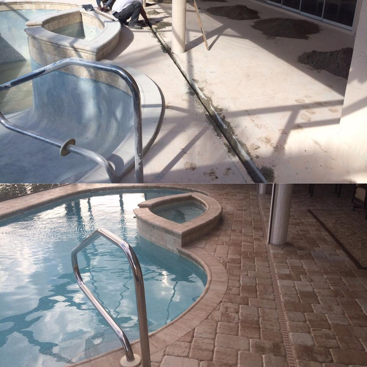 Patios & Pool Decks Pavers | Ipi Interlocking Pavestones Inc