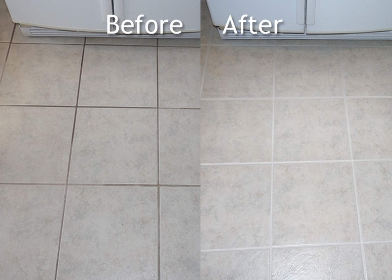 Tile Restoration-Before & After
