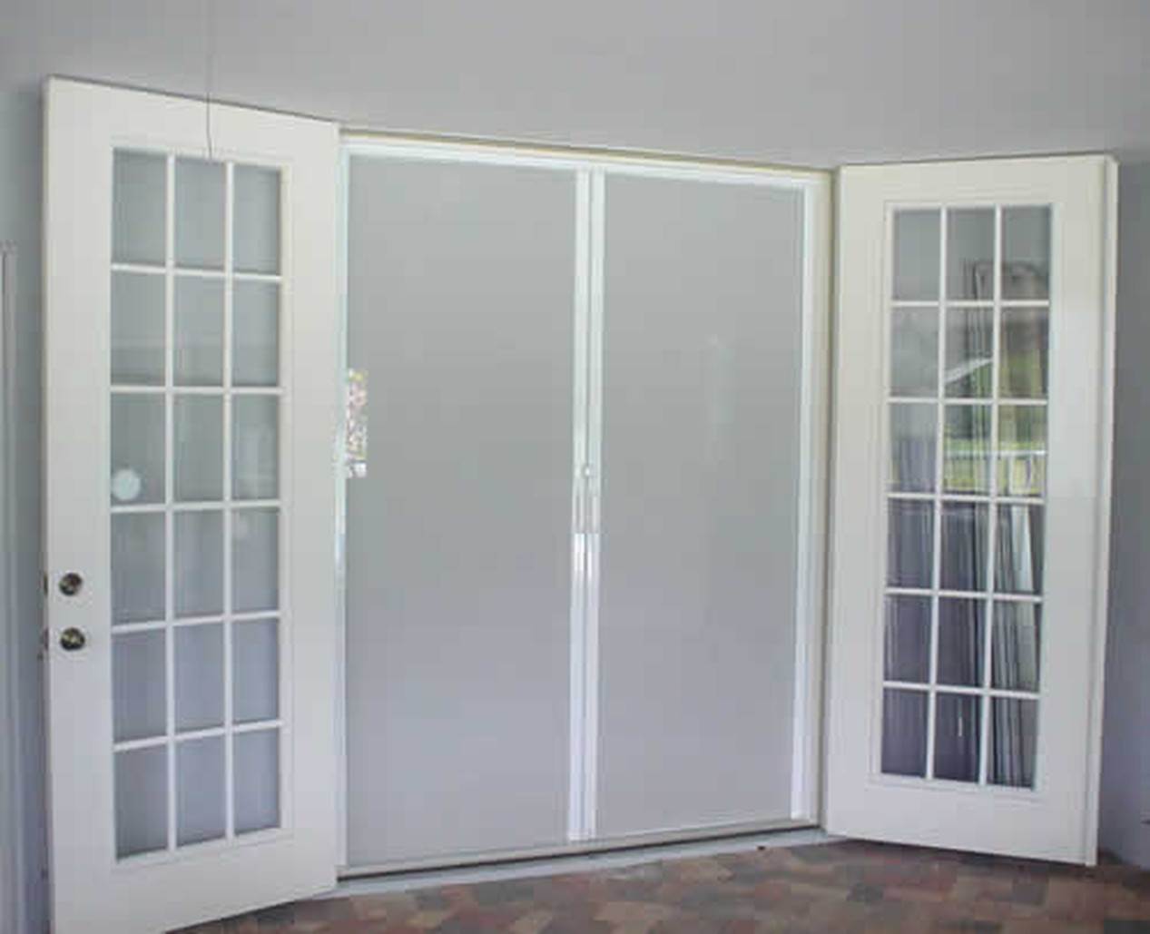 RETRACTABLE FRENCH DOORS