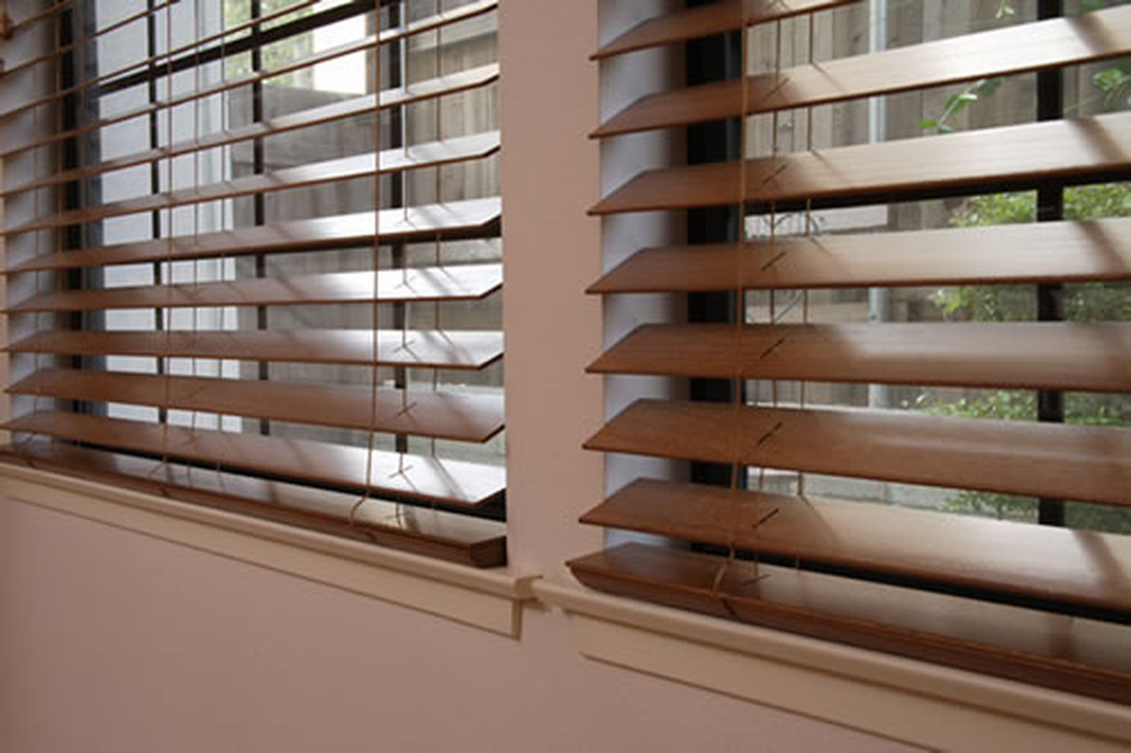 WOOD BLINDS -WHOLE HOUSE INSTALLED